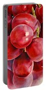 Red Grape Reflections Portable Battery Charger