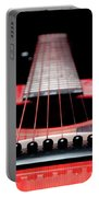Red Guitar 16 Portable Battery Charger