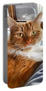 Red-haired Kitten Portable Battery Charger