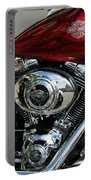 Red Harley Portable Battery Charger