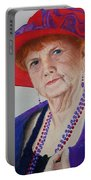 Red-hat Lady Portable Battery Charger