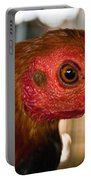 Red Headed Chicken Portable Battery Charger