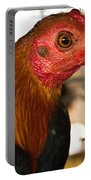 Red Headed Chicken Head Portable Battery Charger