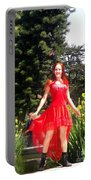 Red Hot - Ameynra Fashion By Sofia Metal Queen. Portable Battery Charger