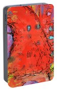 Red Hot Summer Girl Portable Battery Charger