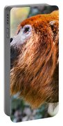 Red Howler Monkey Alpha Male Portable Battery Charger