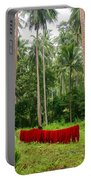 Red In The Jungle Portable Battery Charger