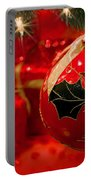 Red Is Christmas Portable Battery Charger
