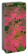 Red Leafs Work Number 12 Portable Battery Charger