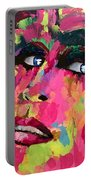 Red Light Offer, Palette Knife Painting Portable Battery Charger