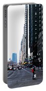 Red Lights - City Of Chicago Portable Battery Charger
