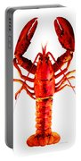 Red Lobster - Full Body Seafood Art Portable Battery Charger