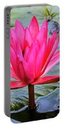 Red Lotus Portable Battery Charger