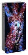 Red Maple Portable Battery Charger by Arla Patch