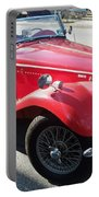 Red Mg Antique Car Portable Battery Charger