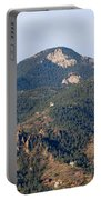 Red Mountain In The Foothills Of Pikes Peak Colorado Portable Battery Charger