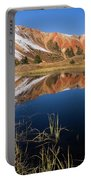 Red Mountain Reflection Portable Battery Charger