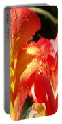 Red N Yellow Flowers 2 Portable Battery Charger