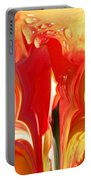 Red N Yellow Flowers 5 Portable Battery Charger