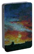 Red Orange Evening Portable Battery Charger