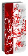 Red Ornament Portable Battery Charger