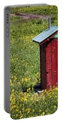 Red Outhouse 3 Portable Battery Charger