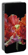 Red Parrot Tulip - Oils Portable Battery Charger