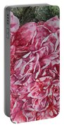 Red Peonies Portable Battery Charger