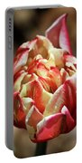 Red Peony Tulip Portable Battery Charger