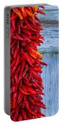 Red Peppers And Blue Door Portable Battery Charger