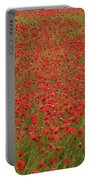 Red Poppies 2 Portable Battery Charger