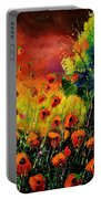 Red Poppies 451130 Portable Battery Charger