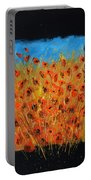 Red Poppies 6771 Portable Battery Charger