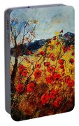 Red Poppies In Provence  Portable Battery Charger