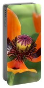 Red Poppy I Portable Battery Charger