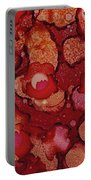 Red Poppy Profusion Portable Battery Charger