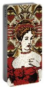 Red Queen Baroque Portable Battery Charger