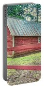 Red Rail Barn Portable Battery Charger