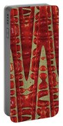 Red Ripe Pomagranite Abstract Portable Battery Charger
