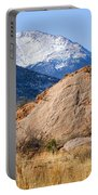 Red Rock And Pikes Peak Portable Battery Charger
