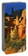 Red Rock Canoyon At Sunset Portable Battery Charger