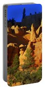 Red Rock Canoyon Moonrise Portable Battery Charger