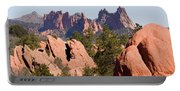 Red Rock Canyon Open Space Park And Garden Of The Gods Portable Battery Charger