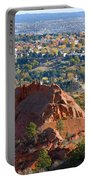 Red Rock Canyon Rock Quarry And Colorado Springs Portable Battery Charger