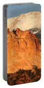 Red Rock Portable Battery Charger by Eric Glaser