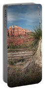 Red Rock Formation In Sedona Arizona Portable Battery Charger