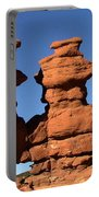 Red Rock Formation  Portable Battery Charger