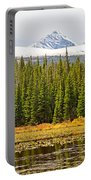 Red Rock Lake Pyramids Portable Battery Charger