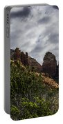 Red Rock Landscape From Sedona Arizona Portable Battery Charger