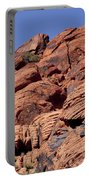 Red Rock Texture Portable Battery Charger